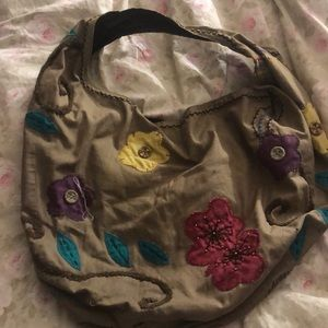 Lucky brand large floral bag